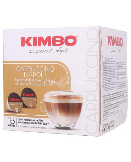 Capsule Cafea Kimbo Cappuccino Napoli Dolce Gusto 16 Capsule