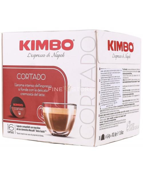 Capsule Cafea Kimbo Cortado Dolce Gusto 16 Capsule