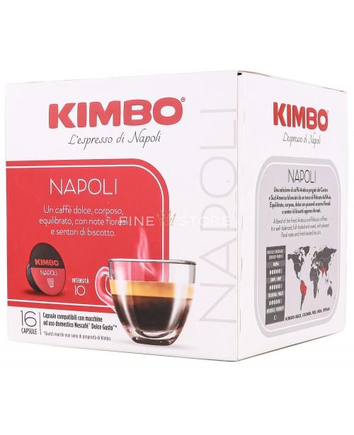 Capsule Cafea Kimbo Napoli Dolce Gusto 16 Capsule
