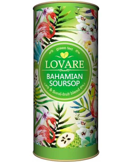 Ceai Lovare Bohamian Soursoup Verde si Floral Tub 80g Top