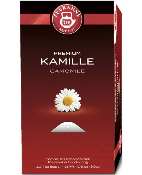 Ceai Teekanne Premium Camomile 20 pliculete Top