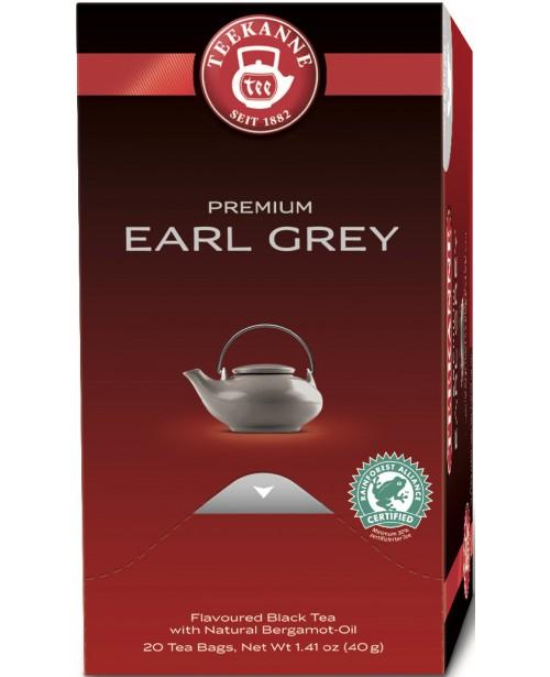 Ceai Teekanne Premium Earl Grey 20 pliculete