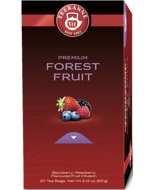 Ceai Teekanne Premium Forest Fruit 20 pliculete Top