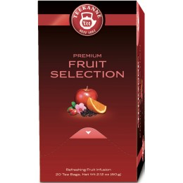 Ceai Teekanne Premium Fruit Selection 20 pliculete