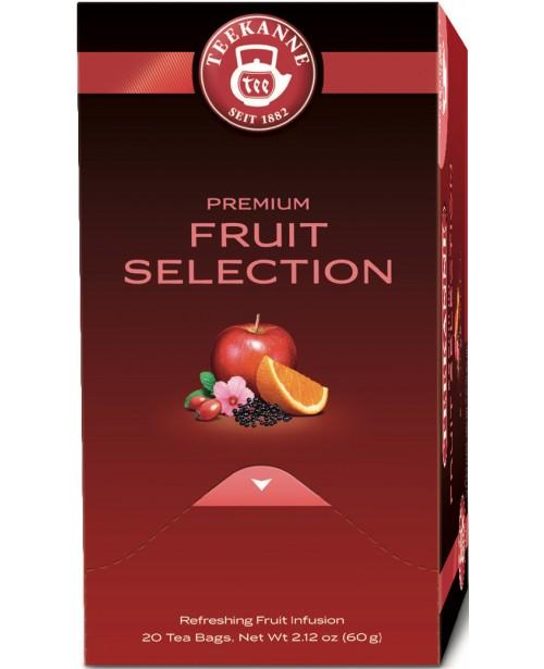Ceai Teekanne Premium Fruit Selection 20 pliculete