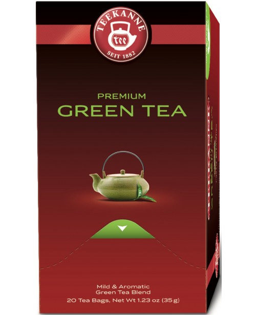Ceai Teekanne Premium Green Tea 20 pliculete