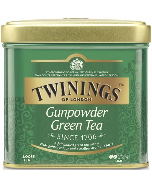 Ceai Twinings Verde Gunpowder Cutie Metal 100g