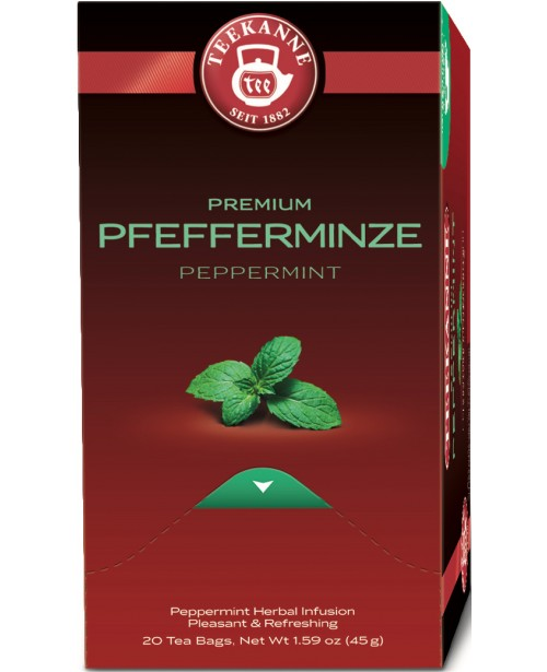 Ceai Teekanne Premium Pepermint 20 pliculete Top