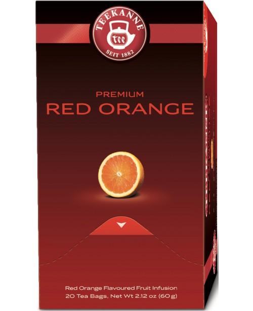 Ceai Teekanne Premium Red Orange 20 pliculete