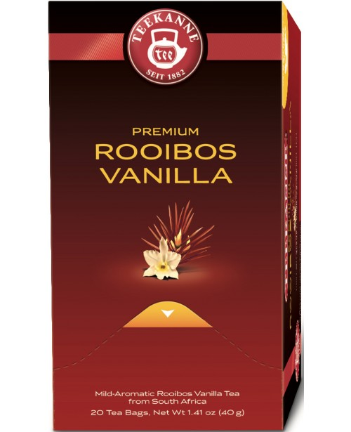 Ceai Teekanne Premium Rooibos Vanilla 20 pliculete Top