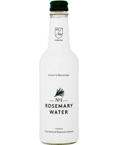 No1 Rosemary Water Apa Carbogazoasa 0.33L Sticla BAX Top