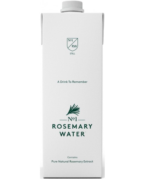 No1 Rosemary Water Apa Necarbogazoasa 1L Tetra BAX Top