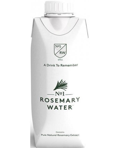 No1 Rosemary Water Apa Necarbogazoasa 0.33L Tetra BAX Top