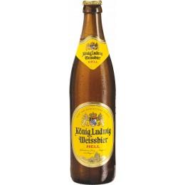 Konig Ludwig Weissbier/Hell Sticla 0.5L BAX