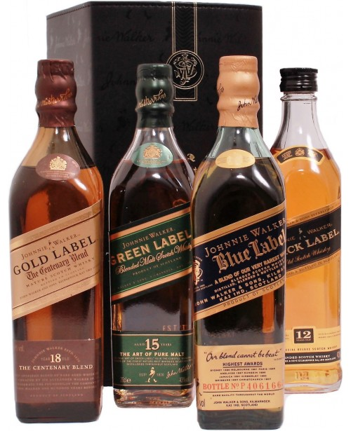 Johnnie Walker The Collection Top