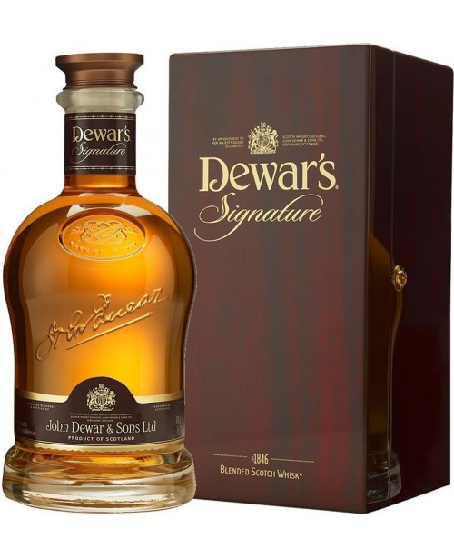 Dewar's Signature 0.7L Whisky Blended Whisky