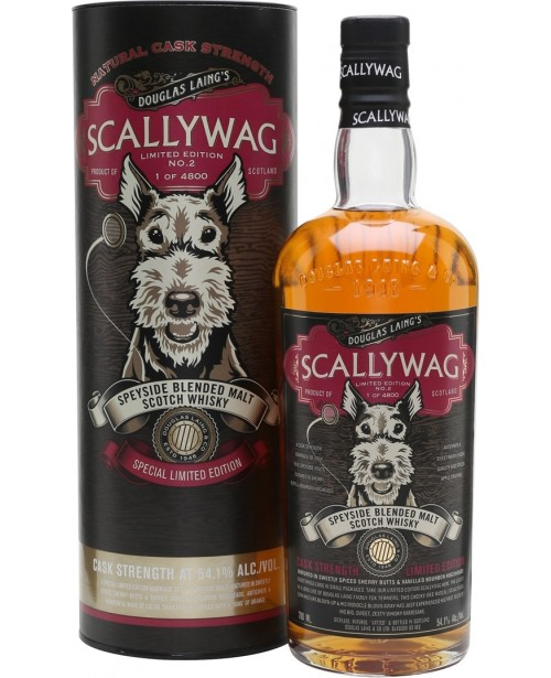 Scallywag Cask Strenght Edition 2 0.7L