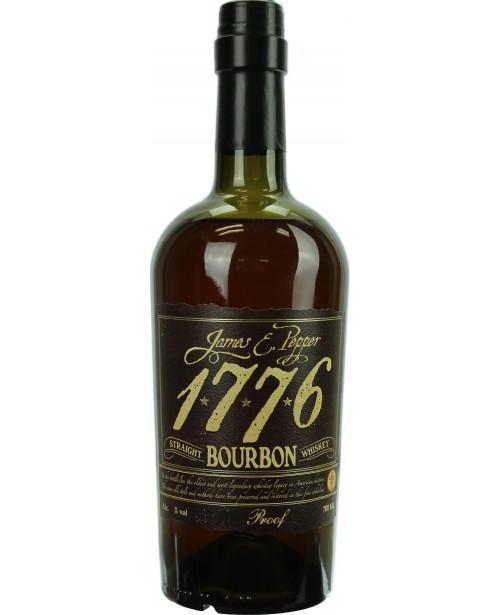 James E. Pepper 1776 Bourbon 92 Proof 0.7L Top