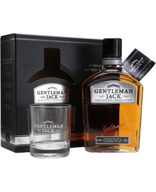 Gentleman Jack Cu Pahar 0.7L Top