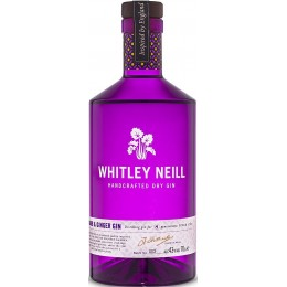 Whitley Neill Rubarba si Ghimbir Gin 1L