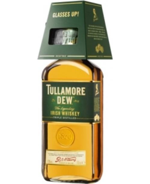 Tullamore Dew cu 1 Pahar 0.7L Top