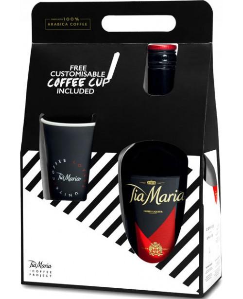 Tia Maria Cu Ceasca Cafea Personalizabila 0.7L