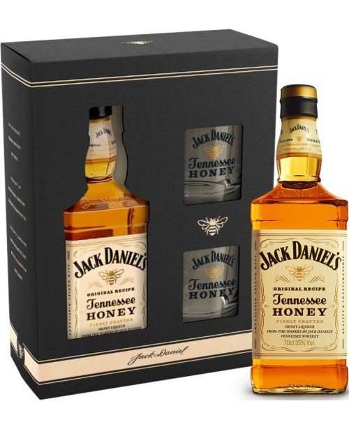Jack Daniel's Honey Cu 2 Pahare Shot 0.7L Top