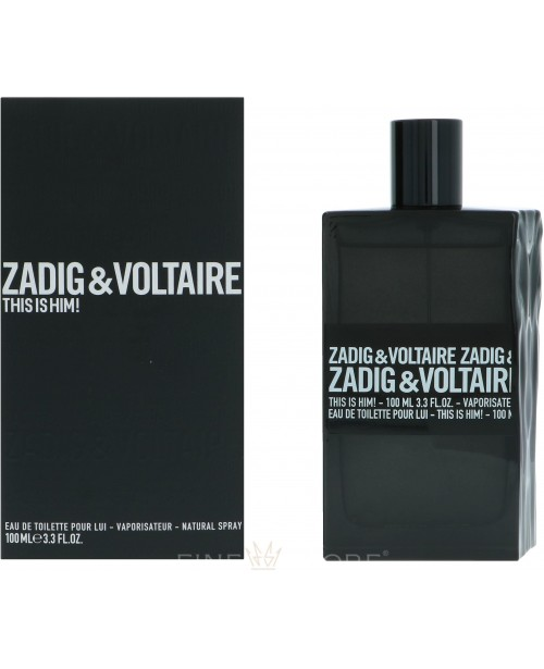 Zadig & Voltaire This Is Him 100ml
