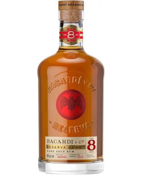Bacardi 8 Ani 1L Top