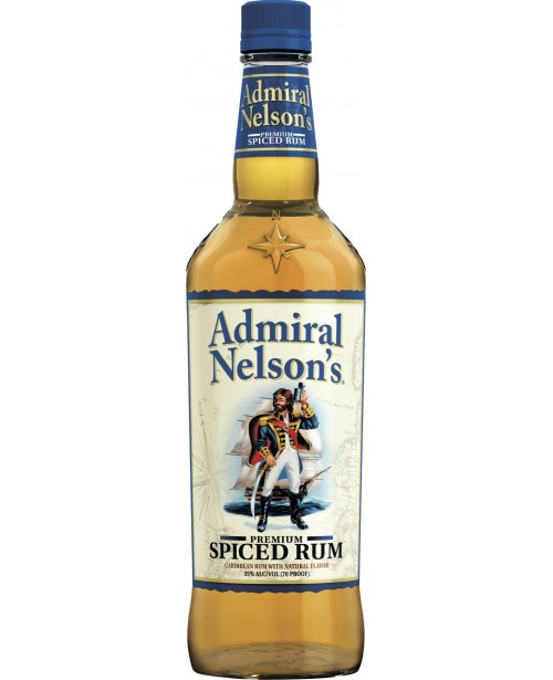 Admiral Nelson's Spiced Gold 1L Top