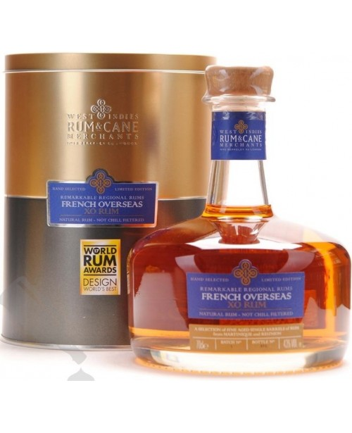 French Overseas XO Remarkable Regional Rums 0.7L Top