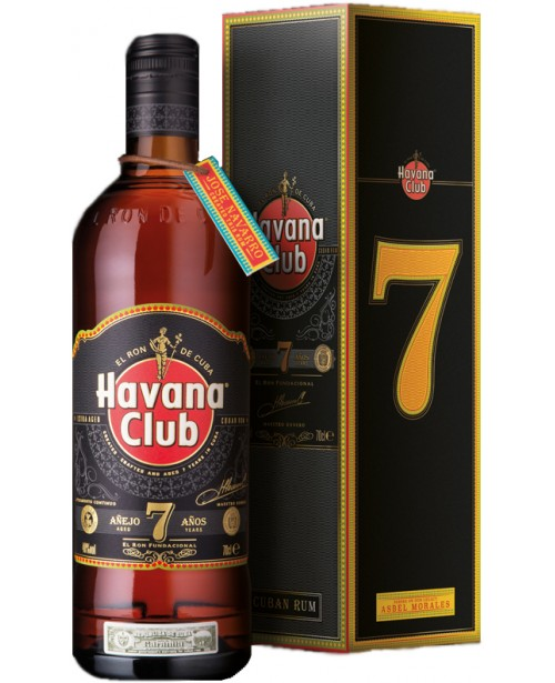Havana Club Anejo 7 Ani 1L Top