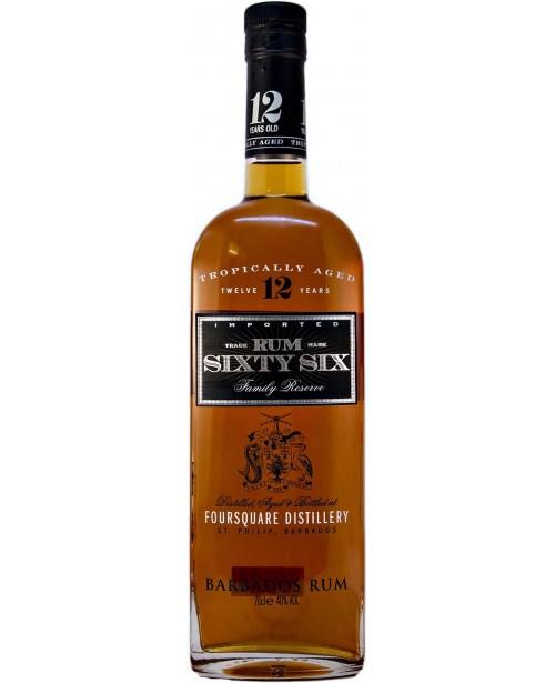 Rum Sixty Six 12 Ani 0.7L