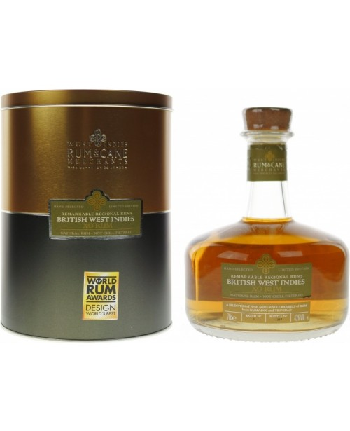 British West Indies XO Remarkable Regional Rums 0.7L Top