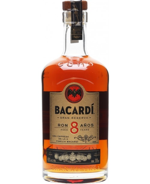 Bacardi 8 Ani 0.7L Top