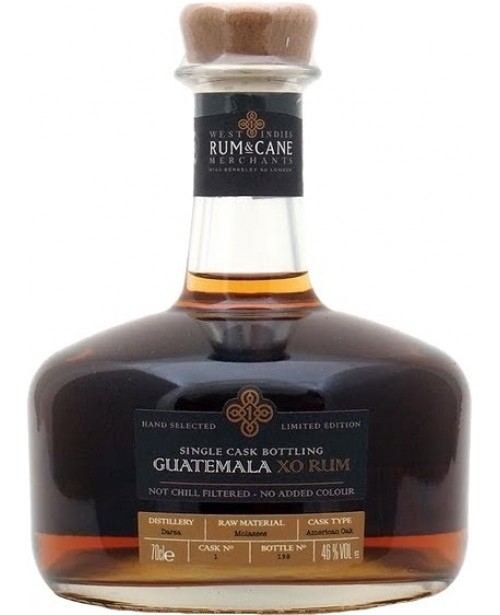Guatemala XO Single Cask Bottling Rum 0.7L