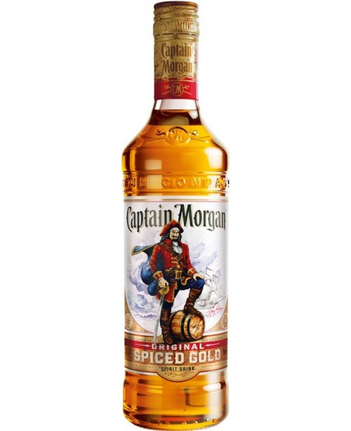 Captain Morgan Spiced Gold 0.7L Top