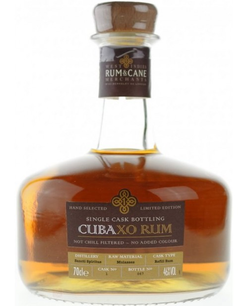 Cuba XO Single Cask Bottling Rum 0.7L
