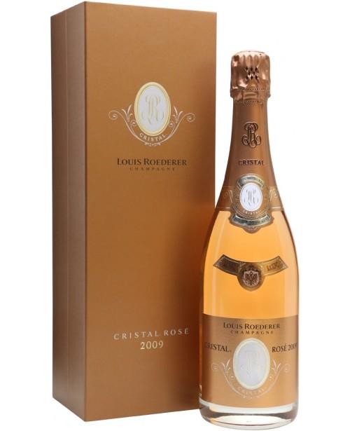 Louis Roederer Cristal Rose Cutie Cadou 0.75L Top