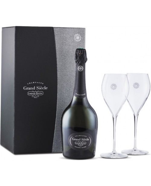 Laurent Perrier Grand Siecle cu 2 Pahare 0.75L