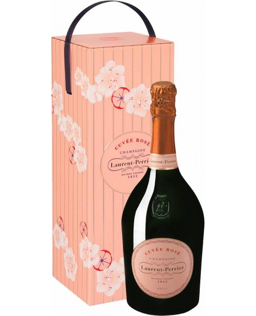 Laurent Perrier Rose Cutie Metal  0.75L Top