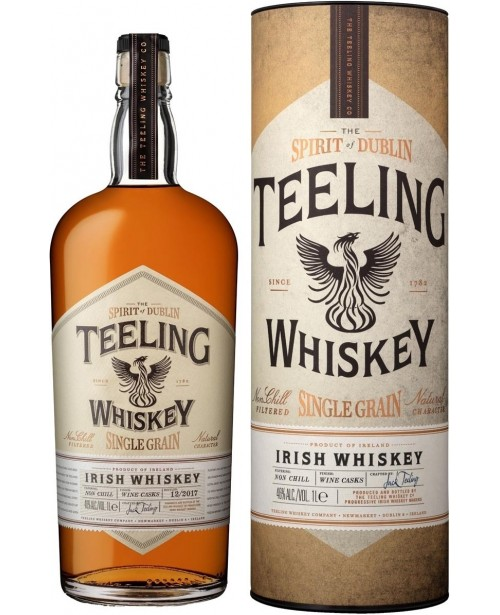Teeling Single Grain 1L Top