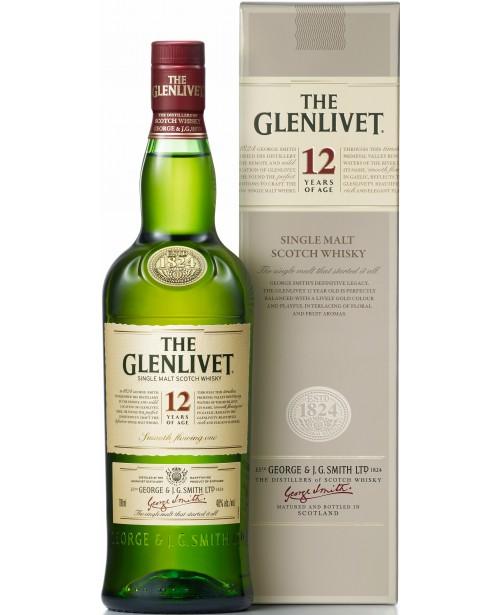Glenlivet 12 Ani 1L