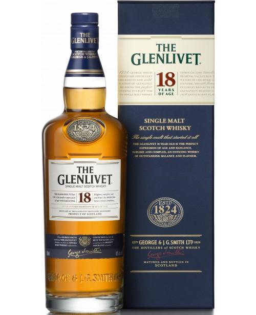 Glenlivet 18 Ani 1L