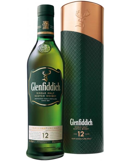 Glenfiddich 12 Ani Liquid Copper Tin 0.7L