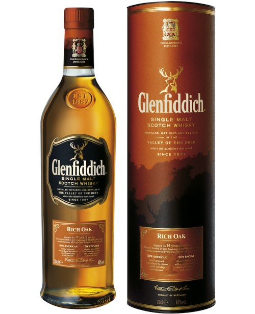 Glenfiddich 14 Ani Rich Oak 0.7L