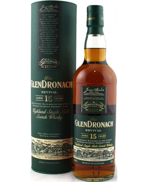 GlenDronach 15 Ani Revival 0.7L