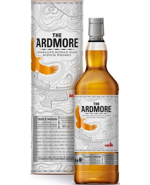 Ardmore Triple Wood Peated 1L Top