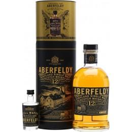 Aberfeldy 12 Ani + Sticla Apa Sursa Uisge 0.7L