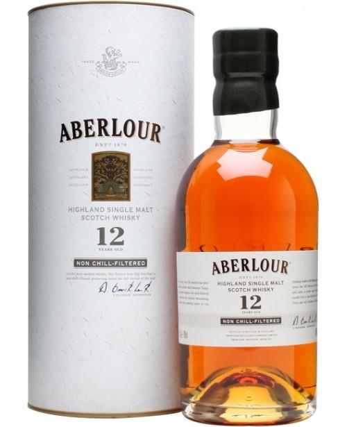Aberlour 12 Ani Non Chill-Filtered 0.7L Top
